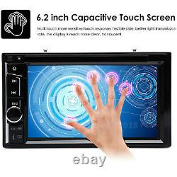 For Audi A3 A1 A4 6.2Double 2 Din Car DVD Player Radio Stereo USB Bluetooth UK