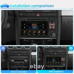 For Audi A4 S4 RS4 SEAT EXEO 7 Car Radio Stereo DVD Player GPS Sat Nav BT RDS