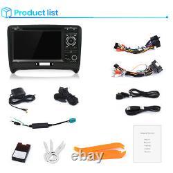 For Audi TT MK2 Car Radio Stereo DVD Player 7 SAT GPS Navigation Bluetooth
