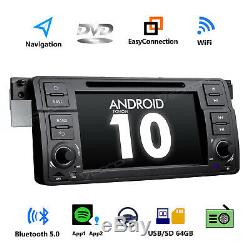 For BMW E46 320/325/328 7 GPS Android 10 Car Radio DVD Player Navigation Stereo