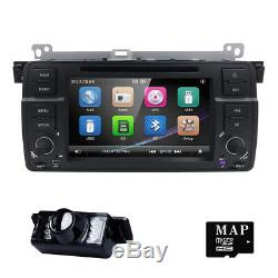For BMW E46 M3 320 325 7 1080P Video Car Radio Stereo DVD Player GPS Bluetooth