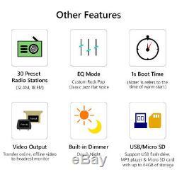 For BMW E90/E91/E92 325 328 Android 8.0 Stereo 7 Car Radio DVD Player GPS USB E