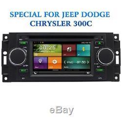 For Chrysler 300c Jeep Dodge Car stereo Radio CD DVD player GPS SatNav Bluetooth