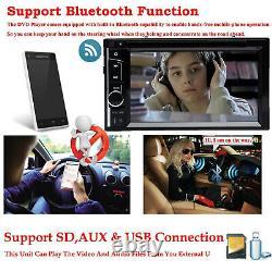 For Fit Toyota Corolla Prado RAV4 MR2 Yaris Car Stereo DVD CD Player FM+Camera