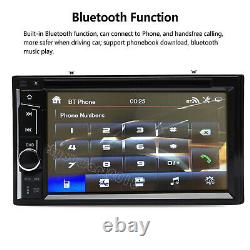 For Ford Fiesta Focus Double DIN 6.2 In dash Car Stereo Radio CD DVD Player USB