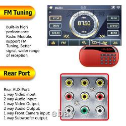 For Ford Focus Double 2DIN 6.2 Car Stereo Radio DVD CD Player Bluetooth+ Camera