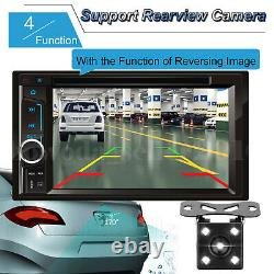 For Ford Transit / Focus Car Stereo Double Din CD DVD MP3 Player Radio Camera UK