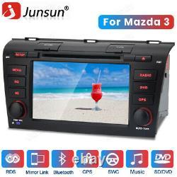 For Mazda 3 2004-2009 Radio Bluetooth 7 GPS Sat Nav Car DAB+ Stereo DVD Player