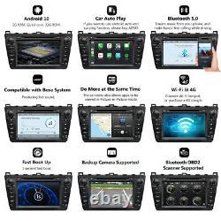 For Mazda 6 2009 2010 2011 2012 Android 10 Car Audio Stereo Radio DVD GPS Navi l