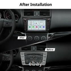 For Mazda 6 8 Car DVD Radio GPS Navi Bluetooth Touch Screen Player 2009-2012 US