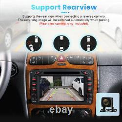 For Mercedes Benz C Klasse CLK W203 W209 7 Car Radio DVD Player GPS sat nav DAB