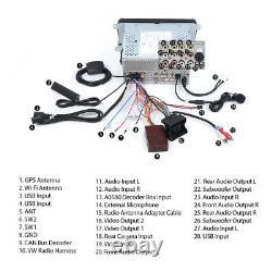For RCD330 VW Skoda Seat Car Radio DVD CD Player Stereo GPS Sat Nav WiFi 4G DAB+