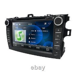 For Toyota COROLLA 2009-2010 8 GPS Navigation Car DVD Player Radio Bluetooth HD