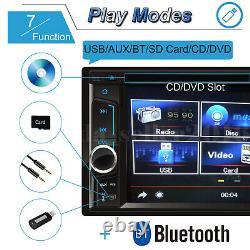 For Toyota Corolla Camry RAV4 Double 2Din Car Stereo Radio CD DVD Player+Camera