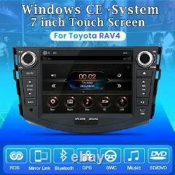 For Toyota RAV4 2006-2012 Stereo Car Radio USB GPS Sat Nav DVD Player Bluetooth