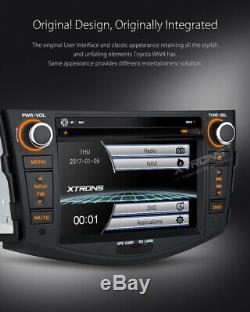 For Toyota RAV4 Dash Radio Car GPS Sat Nav DVD Player Bluetooth Screen Mirroring