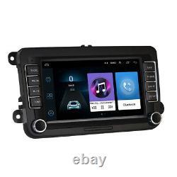 For VW Golf MK5 MK6 Jetta Polo 7 Car Stereo Radio Sat Nav GPS BT DVD Player FM