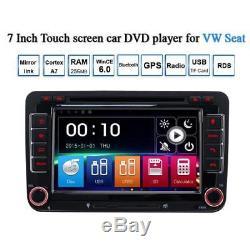 For VW Golf MK5 MK6 Jetta Seat Car Stereo DVD Sat Nav GPS Bluetooth OEM-Style UI
