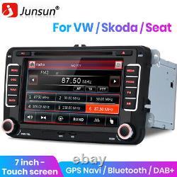 For VW Golf Mk5 Mk6 POLO Car CD DVD Player Radio GPS Sat Nav Stereo DAB+ BT Navi
