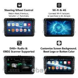 For VW Jetta 2010-2012 8 GPS Navigation Car Stereo DVD Player Radio Android 9.0