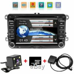 For VW Passat Golf Transporter T5 Car GPS Stereo Radio SAT NAV DVD Player + CAM