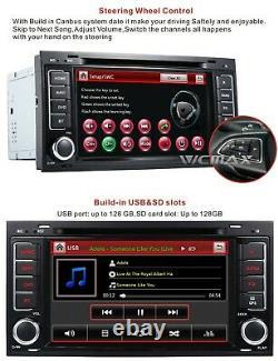 For VW T5 Multivan 2004-2011 TOUAREG Car DVD Player Stereo RDS Radio GPS Sat Nav