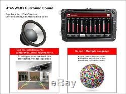 For VW Transporter T5/T6 Jetta Caddy RDS Car Stereo GPS SatNav DVD Player Radio