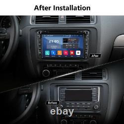 For VW Volkswagen Jetta Passat 8 Car GPS Stereo CD DVD Navi Android pie+ Camera