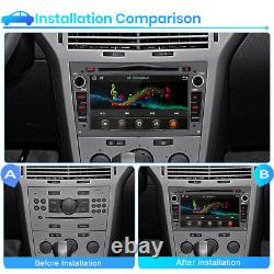 For Vauxhall Corsa C/D Antara Astra H Car Stereo Radio DVD Player GPS SAT NAV BT