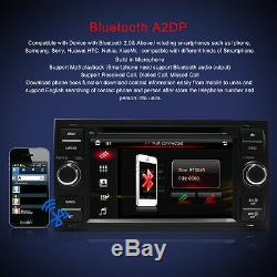 Ford Fiesta Focus Galaxy Transit 7 Car Head Unit DVD CD Player GPS Sat Nav BT