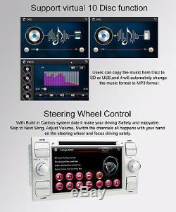 Ford Focus Fusion Kuga C-Max Bluetooth Car Stereo DVD Player 7HD GPS Sat Nav UK