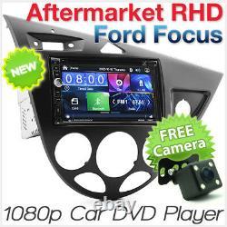 Ford Focus MK1 1998-2004 Car DVD MP3 Player Head Unit Radio Stereo Fascia Kit KT