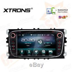 Ford Focus Mondeo S-Max Galaxy Android GPS Navi Car DVD Player DAB+ Radio Stereo