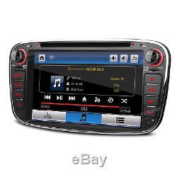 Ford Focus S-Max Mondeo Galaxy Stereo Unit Car DVD Player GPS SatNav Bluetooth