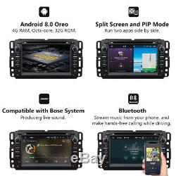 GA9180A Android 8.0 7Car DVD Player GPS Navigation BT for Chevrolet GMC Buick E