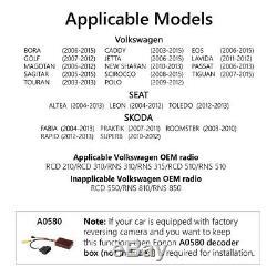 GA9353 Android 9.0 4Core Car Radio DVD Player GPS Sav Nav DAB For VWithSkoda/Seat