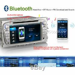 GPS Car DVD Player SAT NAV For FORD FOCUS C/S-MAX MONDEO GALAXY 3G DTV-IN 7189CU