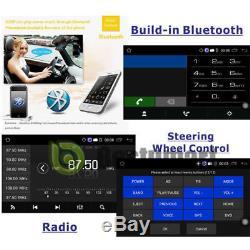 GPS Navigation 2Din HD Car Stereo DVD CD Player Bluetooth Auto Radio iPod+Camera