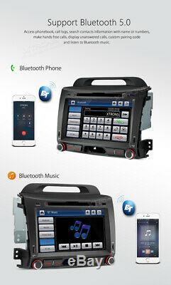 GPS Sat Nav Car DVD Player Stereo for Kia Sportage 2010 2011 2012 2013 2014 2015