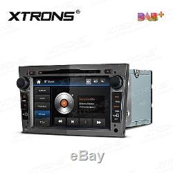 Grey 7 Hd Car CD DVD Player Stereo Gps Dab+ Radio Opel Vauxhall Astra H Corsa