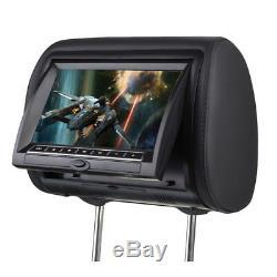 HD Headrest Monitor 2x9 inches Car DVD Player 32 bits Games 720P RMVB USB SD TV