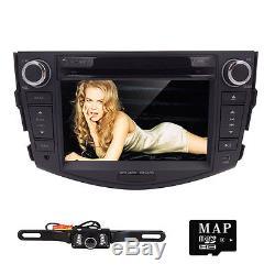 HIZPO 2006-2011 for TOYOTA RAV4 Car DVD Player 2DIN GPS Stereo Radio RDS Camera
