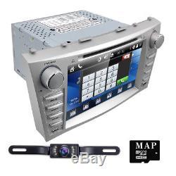 HIZPO 8for Toyota Camry 2007-2011 GPS Navi Car Radio Stereo DVD Player 2Din+MAP
