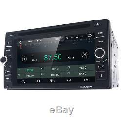 HIZPO Quad Core Android 7.1 4G WIFI 2 DIN Car DVD Player Radio Stereo GPS Navi E