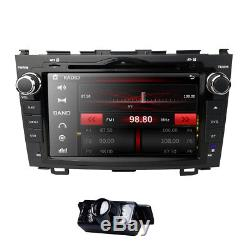HIZPO for HONDA CRV 2007-2011 GPS 8 Car Dash Stereo 2DIN DVD Player Radio CAM