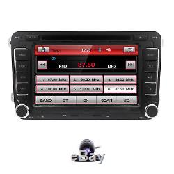 HIZPO for VW Jetta Passat Golf HD Monitor Car Dash Stereo GPS DVD Player Radio