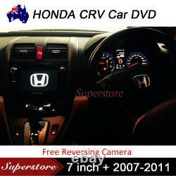 HONDA CRV 7 inch 2007-2011 Car DVD GPS Stereo Player Head Unit