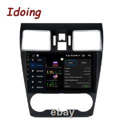 Idoing 9 connect Car Radio DSP DVD Player For Subaru WRX 2016-2020 Steering Whee