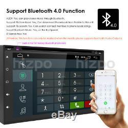 In Dash Andriod 8.1 Double 2Din 7 Car Stereo GPS DAB+ Radio WiFi 4G Head Unit E