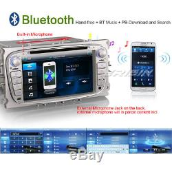 Italiano Ford Autoradio Mondeo Focus C S-Max Galaxy Car DVD GPS DVR SWC 77189IT